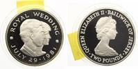 1981  Jersey 2 Pounds 1981 - Royal Wedding - Lady Diana & Prince Charl... 20,00 EUR  zzgl. 1,70 EUR Versand