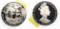 1992  Falkland Islands 5 Pfund 1992 Entdeckung Amerikas pp  25,00 EUR  zzgl. 1,70 EUR Versand