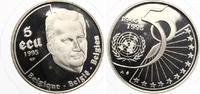 1995  Belgien 5 ECU 1995 50 Jahre UN pp  16,00 EUR  zzgl. 1,70 EUR Versand
