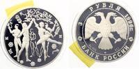 1996  3 Rubel 1996 Masha und der Prinz pp  33,00 EUR  zzgl. 4,00 EUR Versand