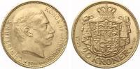 1914  Dänemark 20 Kroner 1914 ChristIAN X vz  335,00 EUR  zzgl. 4,00 EUR Versand