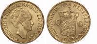 1925  Niederlande 10 Gulden Wilhemina vz  250,00 EUR  zzgl. 4,00 EUR Versand