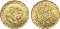 1912  10 Kronen Österreich 1912 Gold bankfrisch  125,00 EUR  zzgl. 4,00 EUR Versand