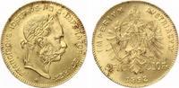 1892  4 Florin Österreich Goldmünze Kaiser Franz Joseph bankfrisch  120,00 EUR  zzgl. 4,00 EUR Versand