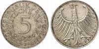 1958 J  5 DM 1958 J Silberadler ss-vz selten  345,00 EUR  zzgl. 4,00 EUR Versand