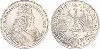 1955  5 DM Markgraf von Baden vz  175,00 EUR  zzgl. 4,00 EUR Versand