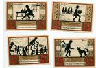 1921  Wünschendorf a.d Elster 4 x 75 Pfennig Mehl 1457.2 1  8,00 EUR  zzgl. 1,70 EUR Versand