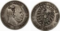 1876 A  2 Mark Preussen Jaeger 96 Wilhelm I ss interessanter Stempelfe... 20,00 EUR  zzgl. 1,70 EUR Versand