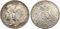 1910  3 Mark Sachsen Weimar Eisenach 2. Hochzeit Jaeger 162 vz-st fein... 80,00 EUR  zzgl. 4,00 EUR Versand
