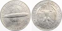 1930 F  5 Mark Zeppelin vz-st  285,00 EUR  zzgl. 4,00 EUR Versand