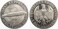 1930 J  5 Mark Zeppelin f.st  300,00 EUR  zzgl. 4,00 EUR Versand