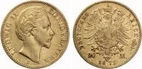 1872  20 Mark Bayern Ludwig II ss  360,00 EUR  zzgl. 4,00 EUR Versand