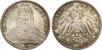 1913  3 Mark Völkerschlacht fast Stempelglanz  45,00 EUR  zzgl. 4,00 EUR Versand