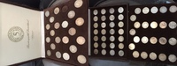 1951-1974  73 x 5 DM Silberadler komplett mit (1958 J ss kl. Rf) ss-vz... 715,00 EUR kostenloser Versand