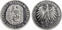 1966  5 DM Leibniz pp  45,00 EUR  zzgl. 4,00 EUR Versand