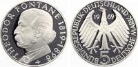1969  5 DM Fontane pp  18,00 EUR  zzgl. 1,70 EUR Versand