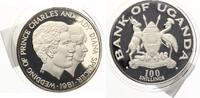 1981  100 Shillings 1981 Uganda Hochzeit Prinz Charles und Lady Diana ... 39,95 EUR  zzgl. 4,00 EUR Versand