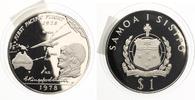 1978  Samoa 1 Tala 1. Pazifik Flug pp  26,50 EUR  zzgl. 4,00 EUR Versand
