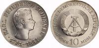 1966  10 Mark Schinkel fast prägefrisch  145,00 EUR  zzgl. 4,00 EUR Versand