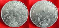 1973  10 Mark Weltfestspiele Bankfrisch  5,00 EUR  zzgl. 1,70 EUR Versand