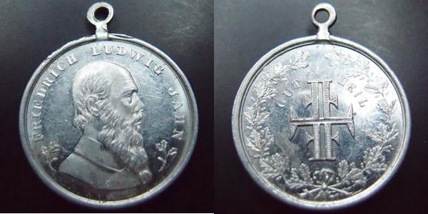 Allemagne, Deutschland, Empire, Kaisereich, Friedrich Ludwig Jahn, mé