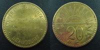 Beaucourt Beaucourt, Territoire de Belfort, 20 centimes laiton 28 mm,... 6.23 US$ 5,50 EUR  +  9.62 US$ shipping