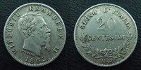 1863 M Italie, Italia, Italiane Italie, Italia, 20 centesimi 1863 M, K... 9.62 US$ 8,50 EUR  +  9.62 US$ shipping
