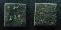 Divers Poids monétaire, 12x12,8 mm, 3,45 grms, III, TTB ss  16.98 US$ 15,00 EUR  +  9.62 US$ shipping