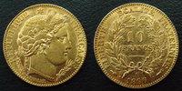1896 A France 10 Francs 1896 A Cérès, or 900°/°° 3,21 grms, G.1016 pet... 209.41 US$ 185,00 EUR  +  9.62 US$ shipping