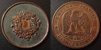 Curiositée numismatique, gravure, forme 10 centimes Napoleon III, ave... 50.30 US$ 45,00 EUR  +  9.50 US$ shipping