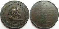 Vatican, papal states  VATICAN, médaille en bronze 48 mm, Pie IX 1867, coups sur tranche TTB