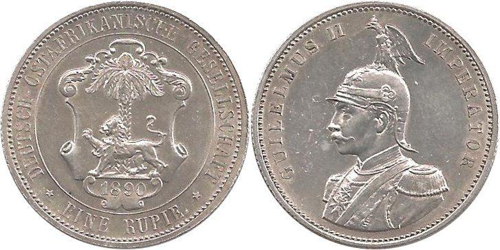 J713 1 Rupie Deutsch-ostafrika 1890