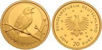 20 Euro 2016 G Deutschland Nachtigall Buchstabe G mit Zertifikat und Or... 209,00 EUR kostenloser Versand