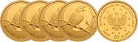 5 x 20 Euro 2016 ADFGJ Deutschland Satz Nachtigall Buchstaben ADFGJ mit... 1035,00 EUR kostenloser Versand