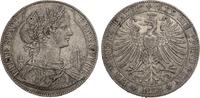 Taler 1858 Frankfurt Stadt ss  100,00 EUR  zzgl. 4,95 EUR Versand