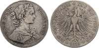 Taler 1859 Frankfurt Stadt ss  50,00 EUR  zzgl. 4,95 EUR Versand