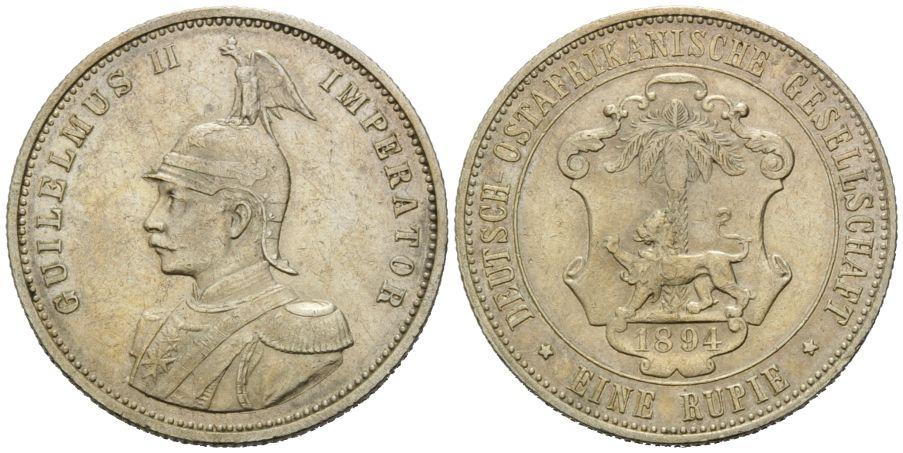 Deutsch Ostafrika, Kolonien, Rupie 1894,