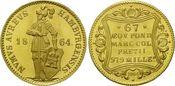 Dukat 1864 (NP 19 Hamburg, Freie und Hanse...