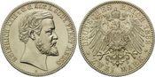 2 Mark 1892, Reuss, Ältere Linie,  min.Kr....