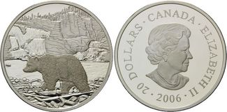 20 Dollars 2006 Kanada, Kanadische Nationa...