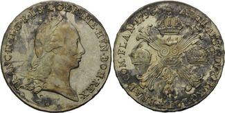 Kronentaler 1796 B Haus Habsburg, Franz II...