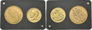 Gold Coin Set 1914, Kanada, Ausbruch des z...