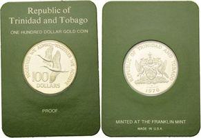 100 Dollars 1976, Trinidad und Tobago, Ibi...