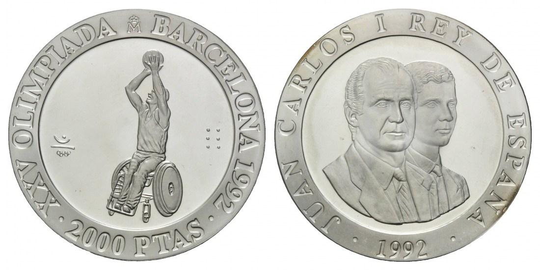 paralympische spiele in barcelona 1992 2x 2000 pesetas. Black Bedroom Furniture Sets. Home Design Ideas