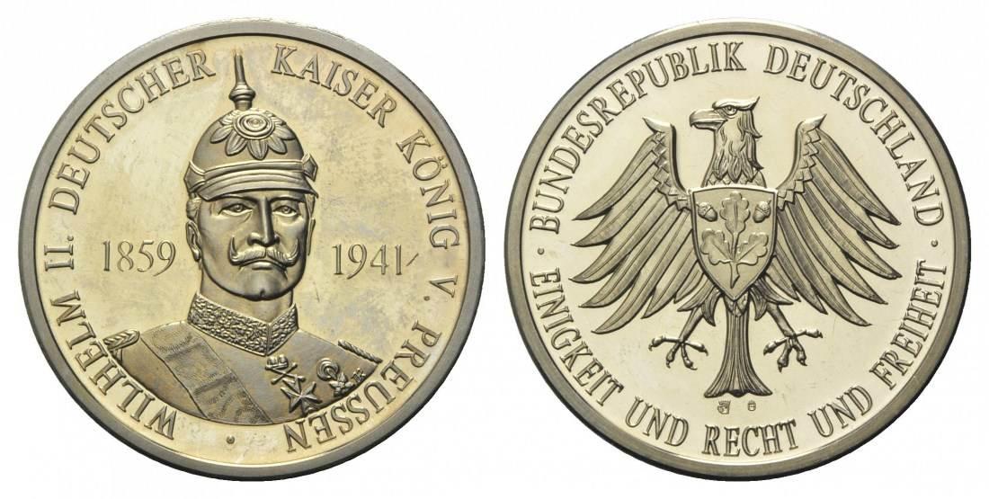 Gedenkprägung auf Wilhelm Ii Deutscher Kaiser König von Preussen, 185