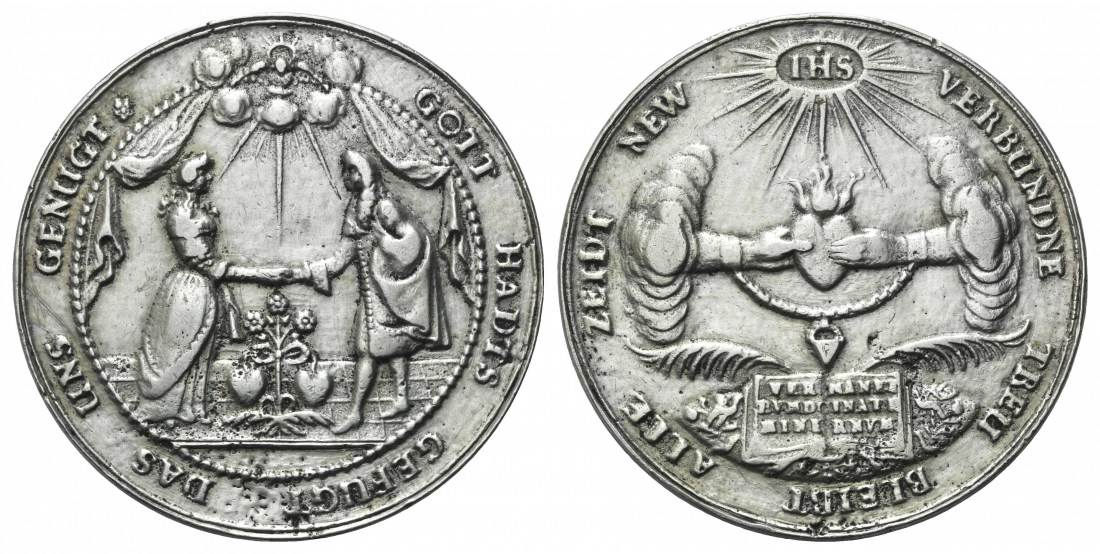 Hochzeit, Nürnberg, Große Silbergußmedaille o J