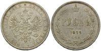 Rubel 1877 SPB/NI, St.Petersburg,  Russland, Alexander II., 1855-1881, ... 198,00 EUR  zzgl. 6,40 EUR Versand