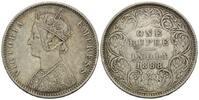 Rupie 1888 Britisch-Indien, Victoria, 1837-1901, f.vz  40,00 EUR