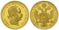 Haus Habsburg, Dukat 1878 f.st Franz Joseph I., 1848-1916, 345,00 EUR  zzgl. 9,40 EUR Versand