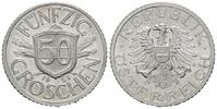 50 Groschen 1955,  Österreich, Zweite Republik, seit 1945, unz.  4,50 EUR  zzgl. 6,40 EUR Versand